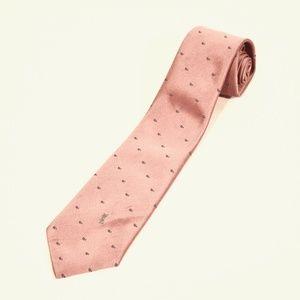 Yves Saint Laurent Pink Neckwear Tie